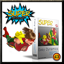 EASY DYNAMICS Super  Clothing ironman13