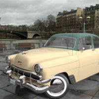 1954 Chevy Bel Air image 2