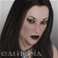 Caledonia 3D Figure Assets HotLime3D