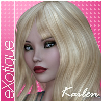 eXotique Kailen Themed Hair Anagord