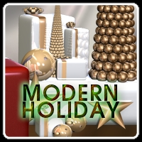 Modern Holiday 3D Models 3D Figure Assets Lyoness
