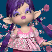 DA-Lil Princess for Kit/Peepot Fae Outfit by 3D TubeMagic Clothing Software Themed DarkAngelGrafics