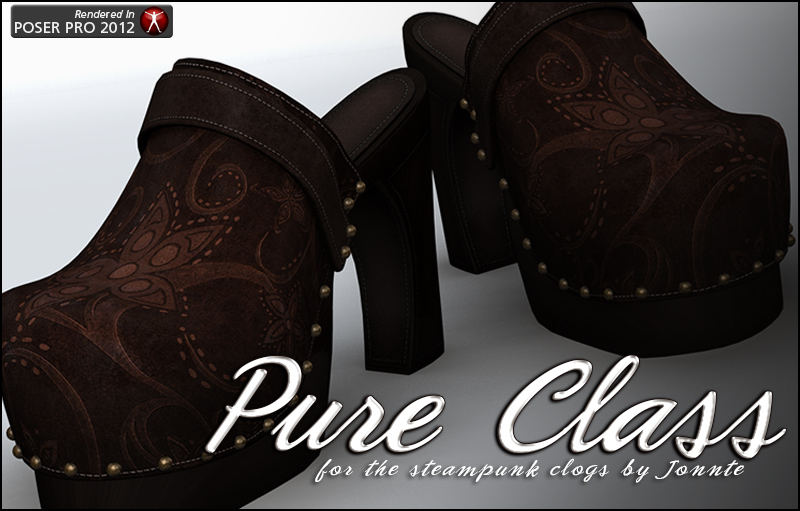 Pure Class for Steampunk Clogs