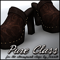 Pure Class for Steampunk Clogs Clothing Themed Sveva