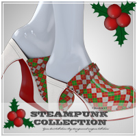 Christmas Clogs for SP-Clogs 3D Models 3D Figure Essentials jonnte