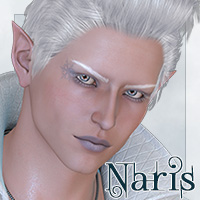 Naris for M4 3D Figure Assets 3D Models Lajsis