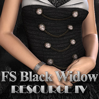 FS Black Widow Resource IV Themed 2D And/Or Merchant Resources FrozenStar
