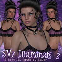 SV7 Illuminate 2 - Mini Pack 3D Lighting : Cameras Seven
