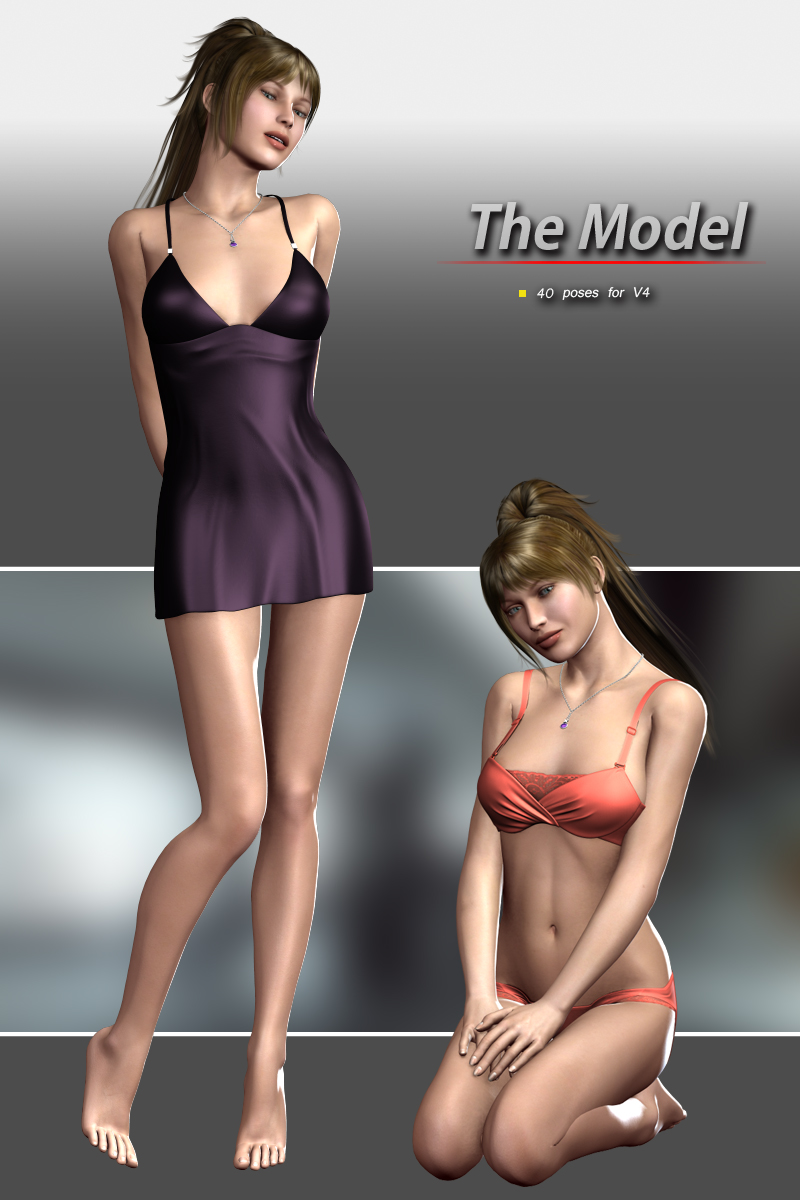 The Model For V4 by halcyone