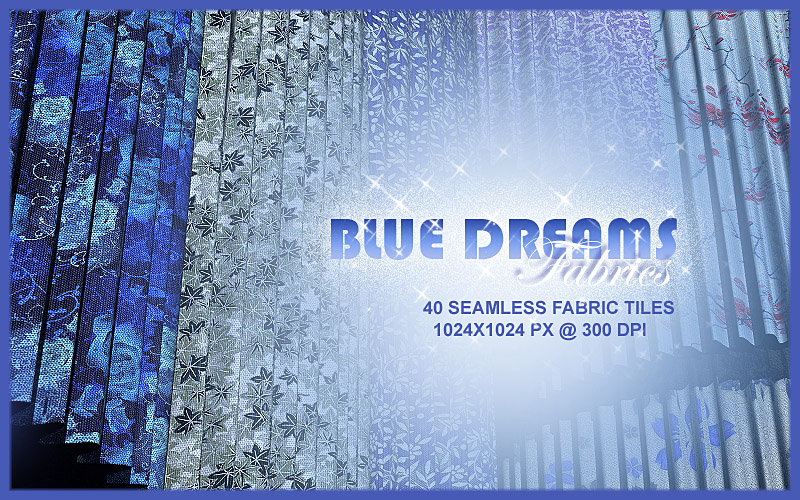 BLUE DREAMS Fabrics