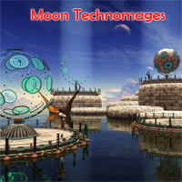Moon Technomages 3D Models 1971s