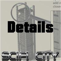 SciFi City Construction Set - Base Pack 1 image 2
