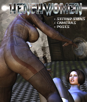 Henchwomen 3D Figure Assets 3D Models Darkworld