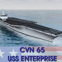 USS Enterprise (CVN-65) 3D Models AliceFromLake