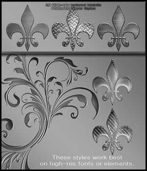 Textured Metal Styles by antje
