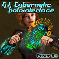 G.I. Cybernetic HoloInterface 3D Models 3D Figure Essentials Cybertenko