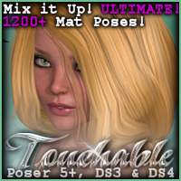 Touchable Amazing Poseable Braid Themed Hair -Wolfie-
