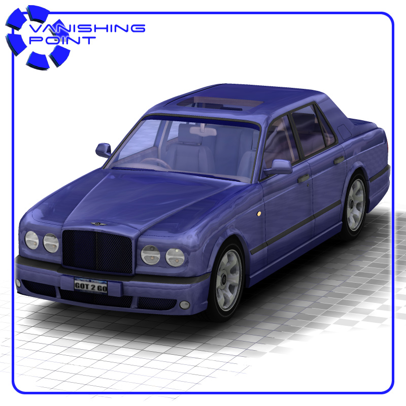 Bentley Arnage  for Poser