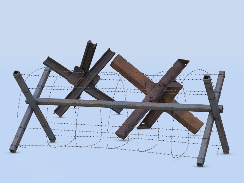 Barricades 1 For Poser 3d Models Andreasgr