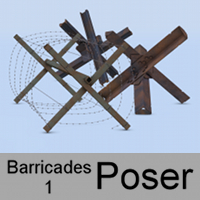 Barricades 1 for Poser by andreasgr