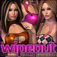 Wipeout for X15: Killed 3D Figure Assets 3D Models ShanasSoulmate