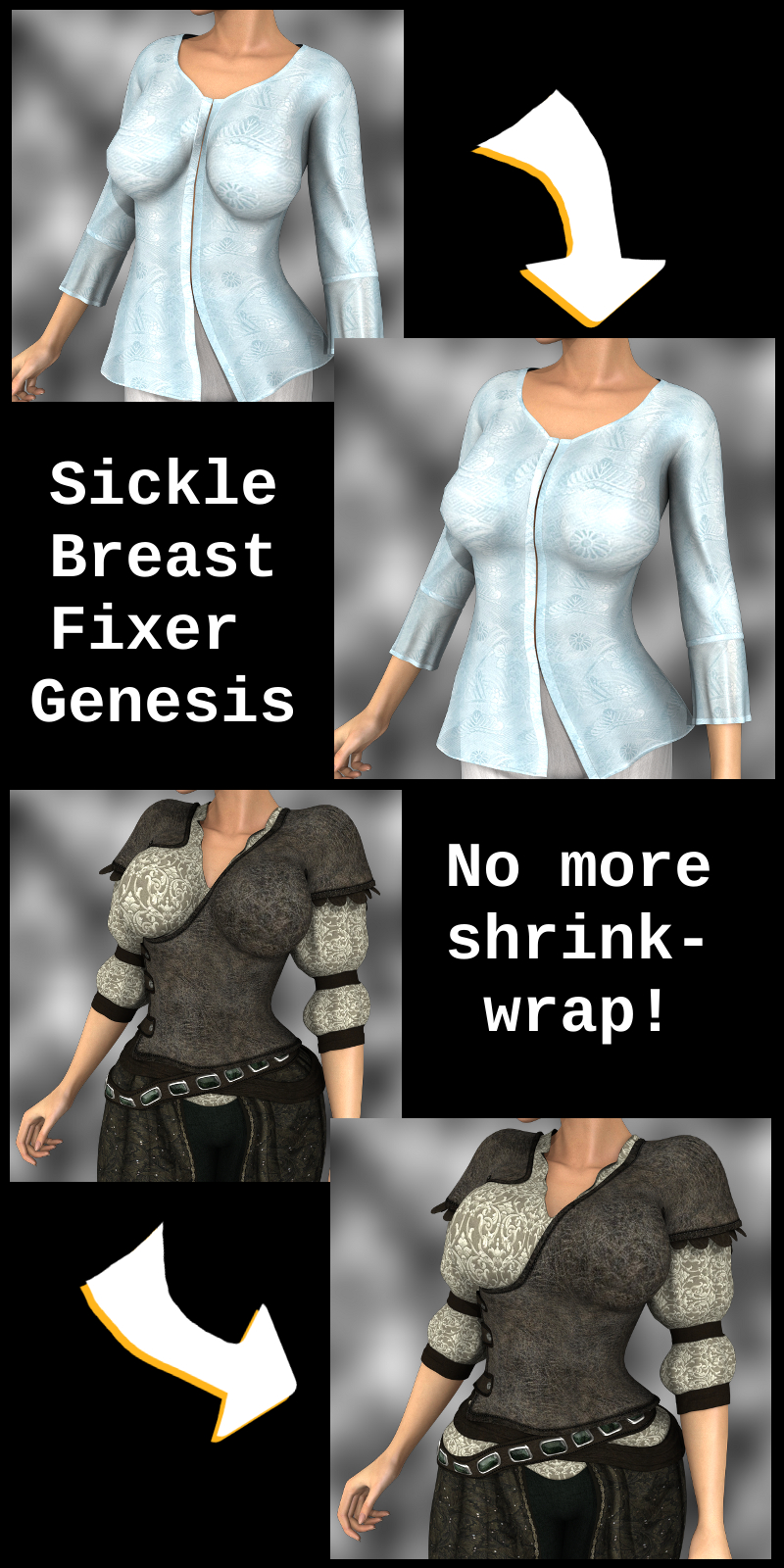 Sickle Breast Fixer G