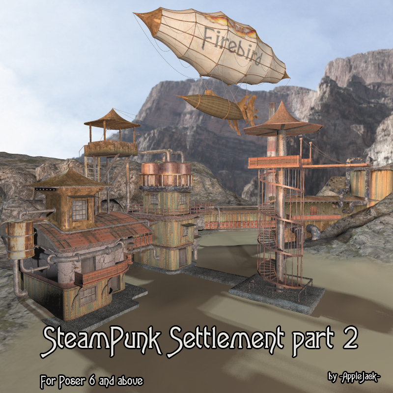 AJ Steampunk Settlement (part 2)