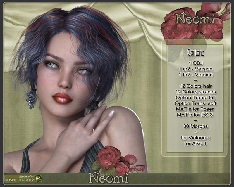 Neomi Hair for V4
