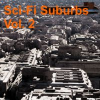 Sci-Fi Suburbs Blocks Vol. 2 3D Models rodluc2001