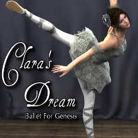 Clara's Dream Ballet 3D Figure Essentials SickleYield