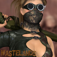 Wastelands - After Dark Day 3D Figure Assets kaleya
