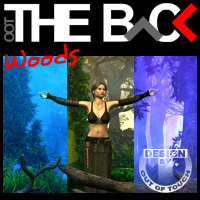THE BACK Woods 3D Models 3D Lighting : Cameras outoftouch