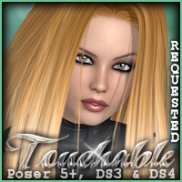 Touchable Hr-093 Themed Hair -Wolfie-