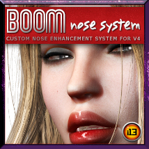 i13 BOOM Nose System for V4 by ironman13