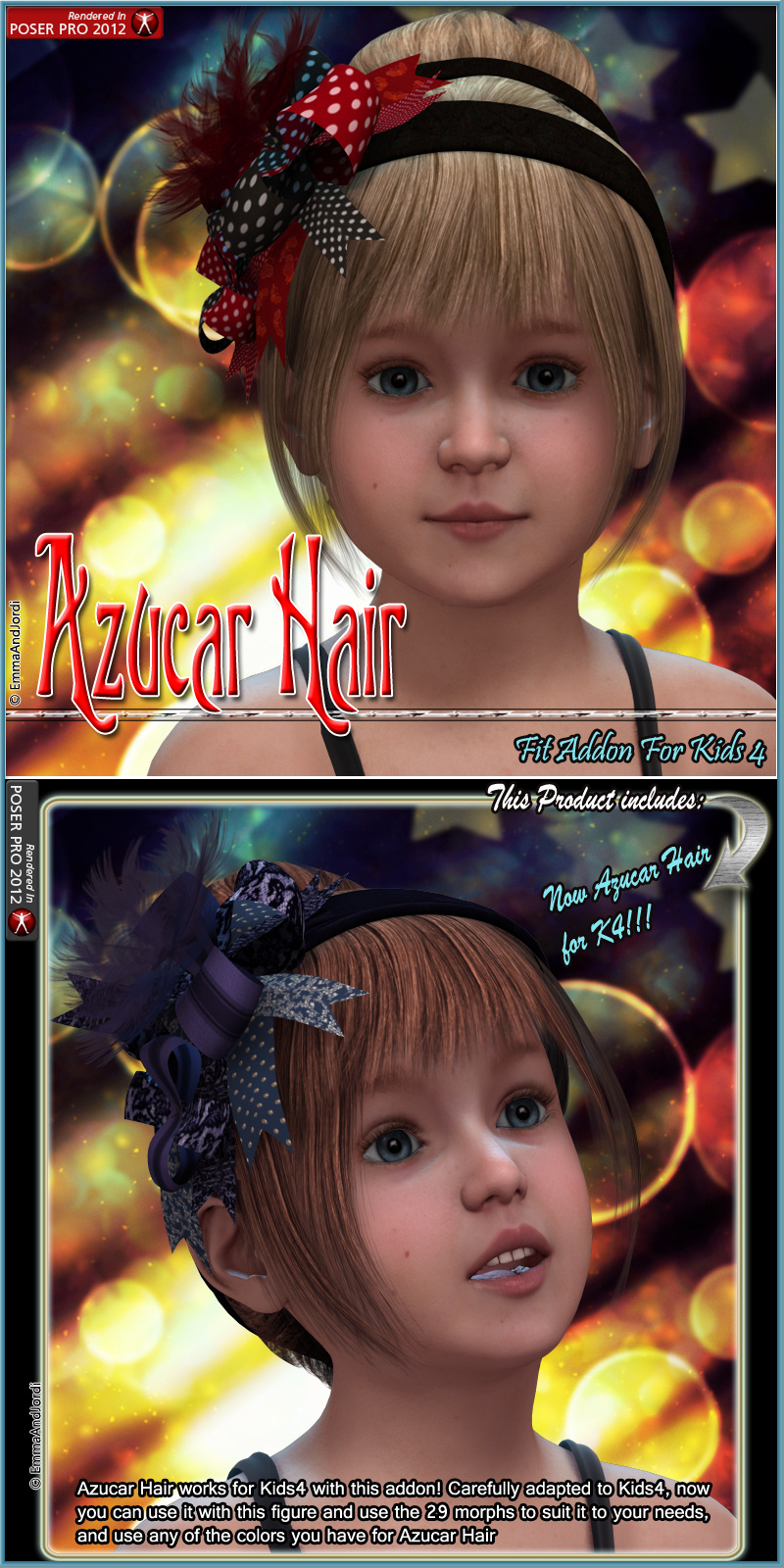 Kids4 Fit Addon For Azucar Hair