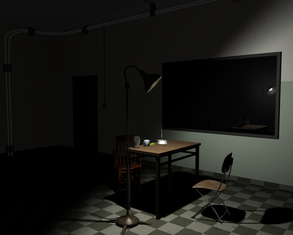 interrogation room Discovery channel is prepping a series that aims to show that takes viewers  inside interrogation rooms during some of history's most intense.