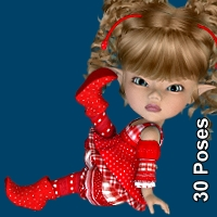 So Sweet - 30 Poses for KIT/Peepot 3D Figure Assets LUNA3D