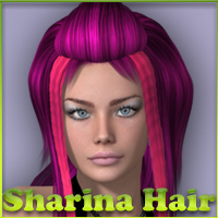 Sharina Hair V4-A4-G4 3D Figure Essentials nikisatez