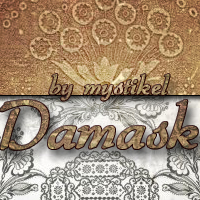 mystikels Damask 2D 3D Models 3D Figure Essentials mystikel