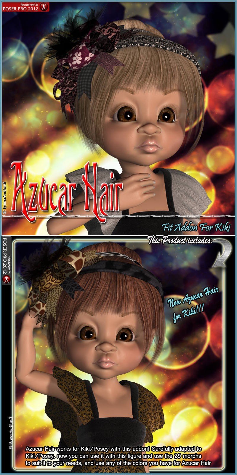 Kiki Fit Addon For Azucar Hair