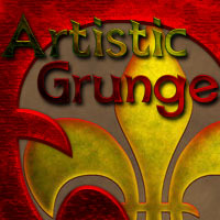 Artistic Grunge Styles 2D And/Or Merchant Resources antje