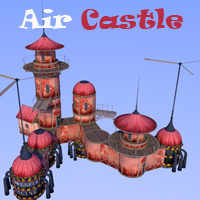 Air Castle 3D Models 1971s