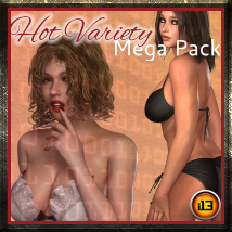 i13 HOT VARIETY MEGA PACK Poses/Expressions ironman13