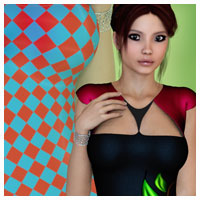Essentials for FASHIONWAVE Singles: Jennifer 3D Figure Essentials Artemis