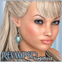 Revamped Nightbird Hair Freja