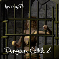 Dungeon Cellkit 2 3D Models Andrus63