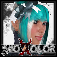 ShoXoloR for Azucar Hair Hair ShoxDesign