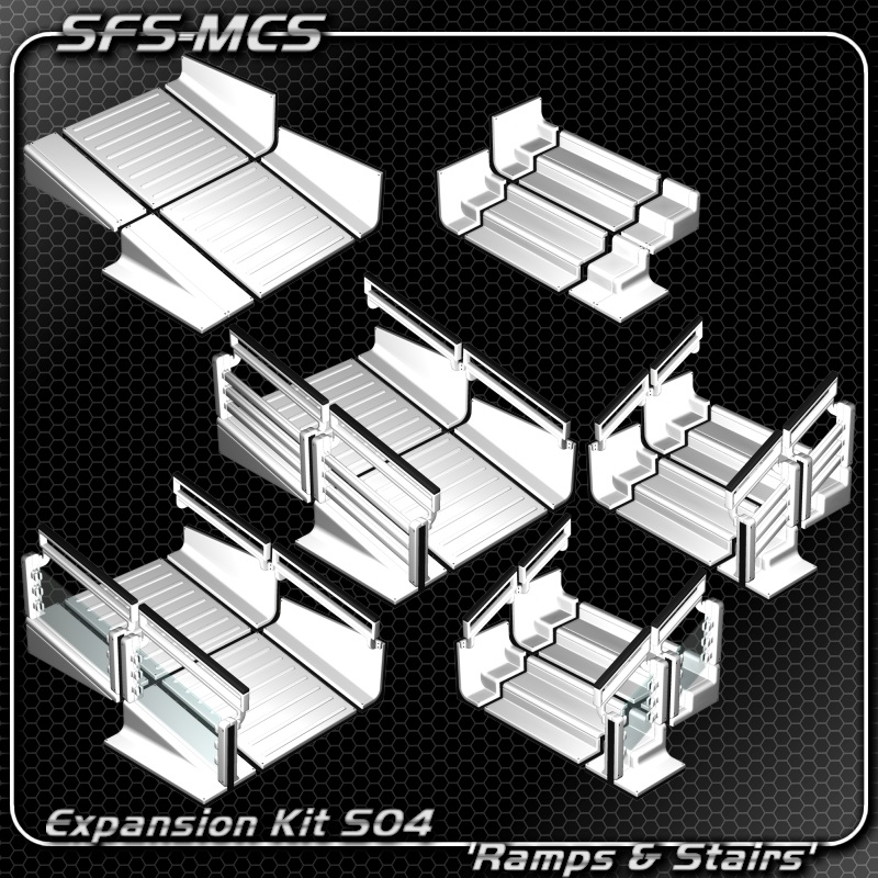 SFS-MCS Ramps and Stairs Expansion Kit (S04)