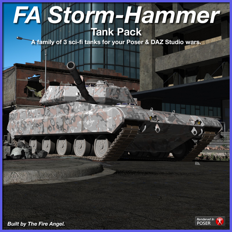FA Storm-Hammer Tank Pack