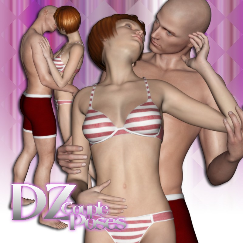DZ MV5 Couple Poses Set 1